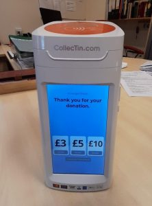 Image of contactless reader